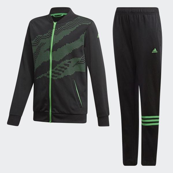 066a3142c278 Training Track Suit Black   Vivid Green DI0186
