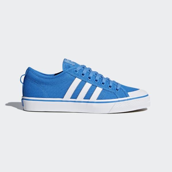 adidas Nizza Shoes - Blue | adidas US | Tuggl