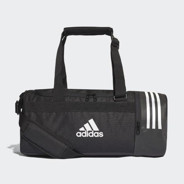 503c0fc959f5 adidas Convertible 3-Stripes Duffel Bag Small - Black