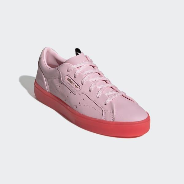 zapatillas mujer rosa adidas