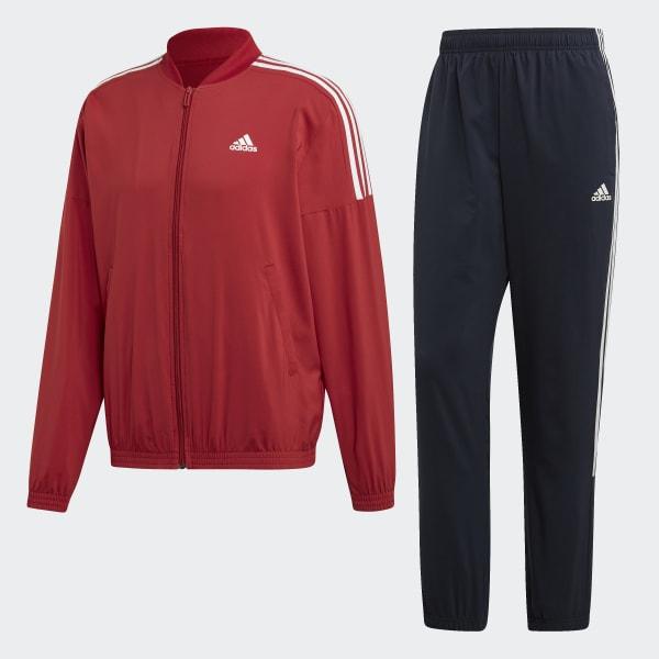 89b3706a08 adidas Light Woven Trainingsanzug - rot   adidas Deutschland