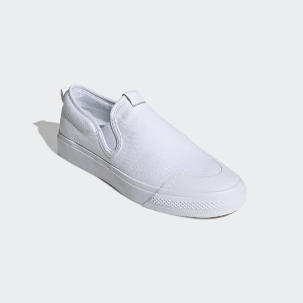 Nizza volledig witte slip onherenschoenen | adidas Nederland