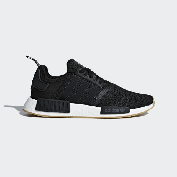 NMD R1 Black and Gum Shoes | adidas US