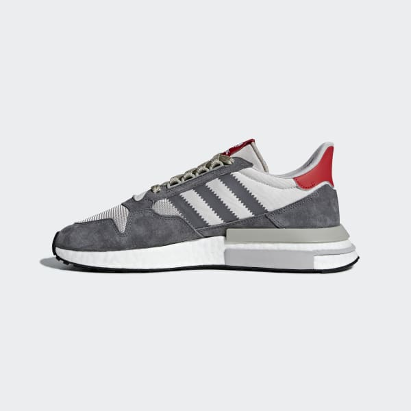 new concept 4ce12 38af9 adidas Tenis ZX 500 RM - Gris  adidas Mexico
