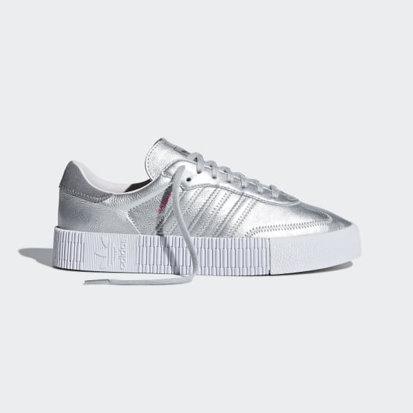 new styles d42cc 2c362 adidas Samba Rose Shoes - Silver  adidas US