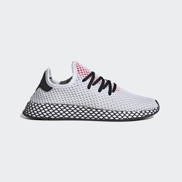 Cheap adidas Deerupt Runner White Black