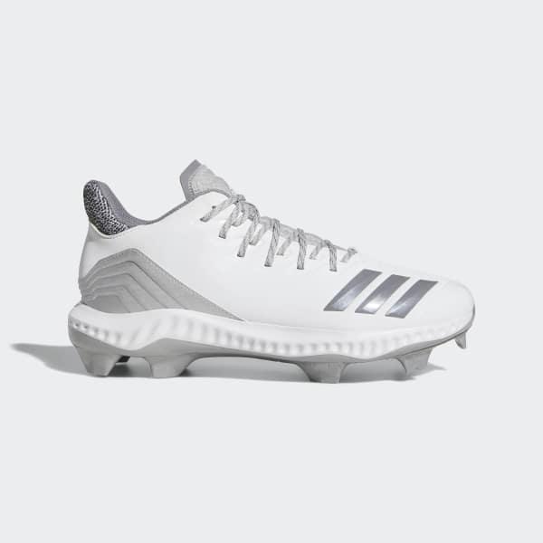 5cea68b3524 adidas Icon Bounce TPU Cleats - White