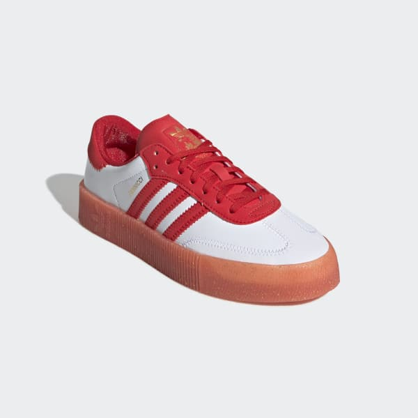 Eficacia Obediente Maldito  adidas Fiorucci SAMBAROSE Shoes - Red | adidas US