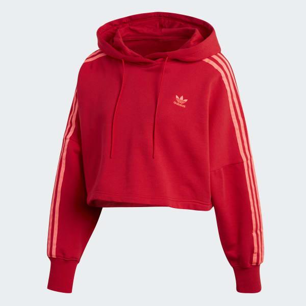 adidas hoodie top