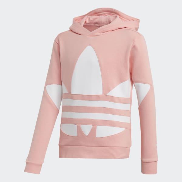 adidas Big Trefoil Hoodie - Pink