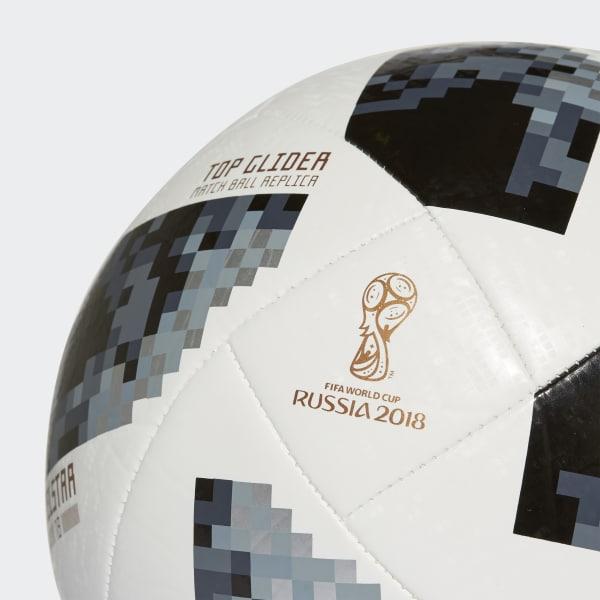 adidas Balón Top Glider Copa Mundial de la FIFA 2018 - Blanco ... 50a3ae91016f6