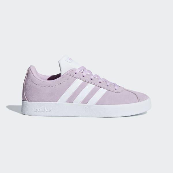 adidas VL Court 2.0 Shoes - Purple | adidas UK