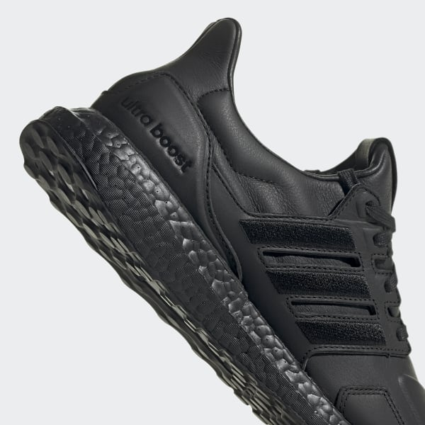 all black leather adidas