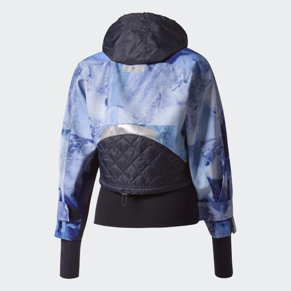 499f05160867 adidas Run Trail Soft Shell Stone Print Jacket - Blue   adidas US