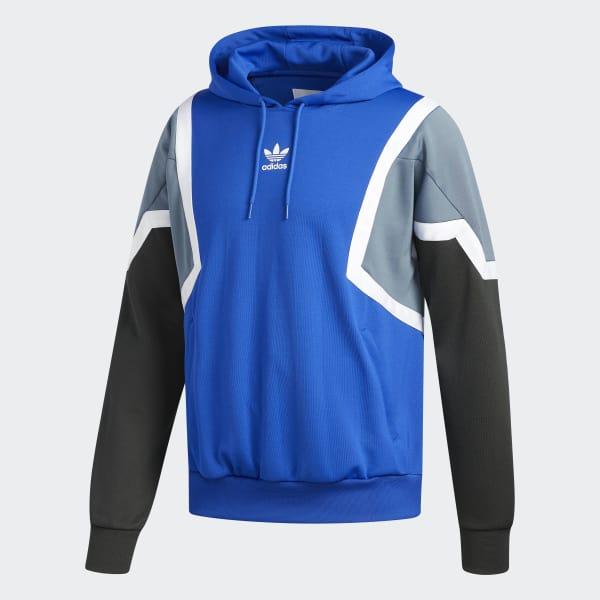 52cecfb9a0a Blusa Capuz Nova - Azul adidas