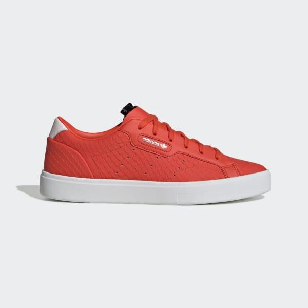 adidas Sleek Shoes - Orange   adidas US