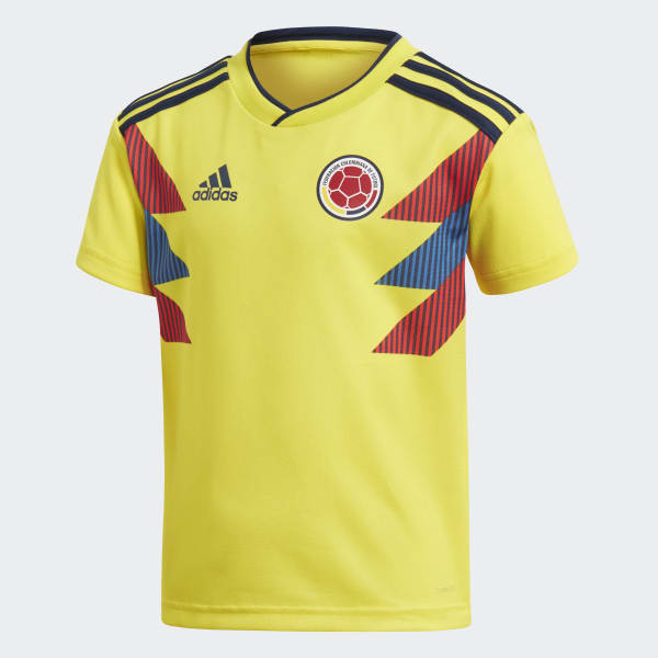 44471d59d57dc adidas Mini Uniforme Selección Colombia Local 2018 - Amarillo ...