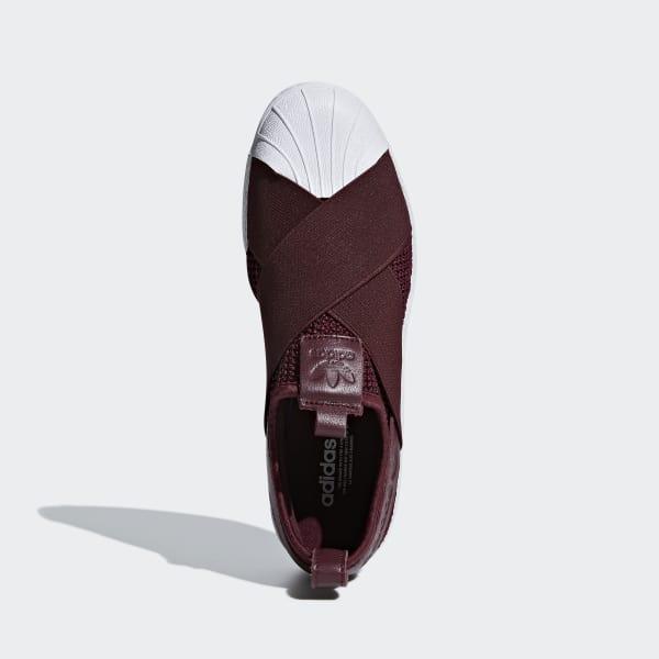 f8baa11d8fce adidas Superstar Slip-on Shoes - Red
