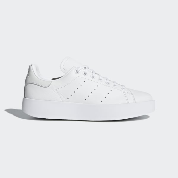 adidas Stan Smith Bold Shoes - White | adidas US | Tuggl
