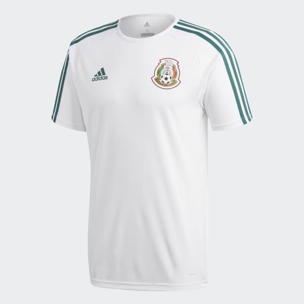 3e1215edb74b1 adidas Playera México de Visitante Fan 2018 - Blanco