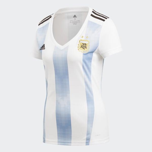 033a6217ed Camisa Oficial Argentina 1 Feminina 2018 - Branco adidas | adidas Brasil