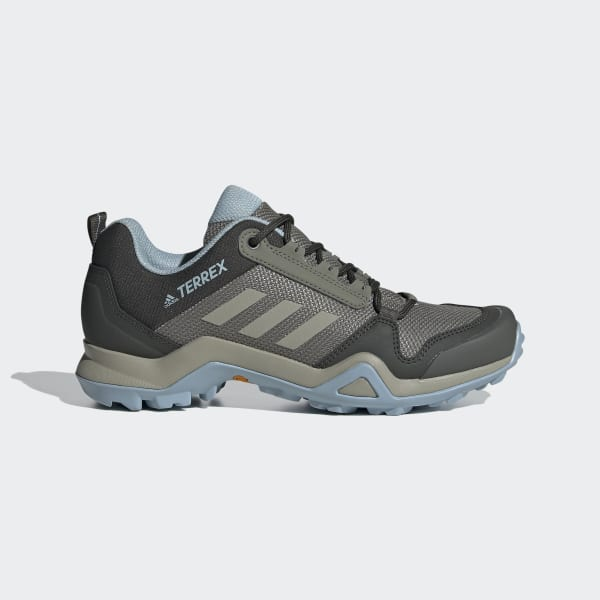 adidas Terrex AX3 Hiking Shoes - Green
