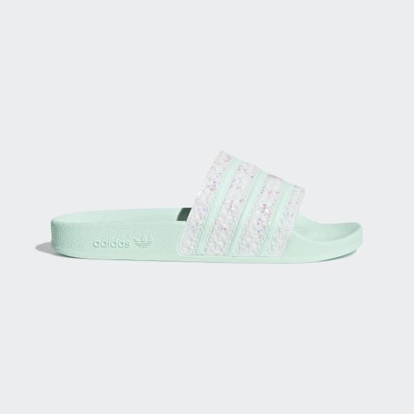 a282644267c adidas Adilette Badslippers - groen | adidas Officiële Shop