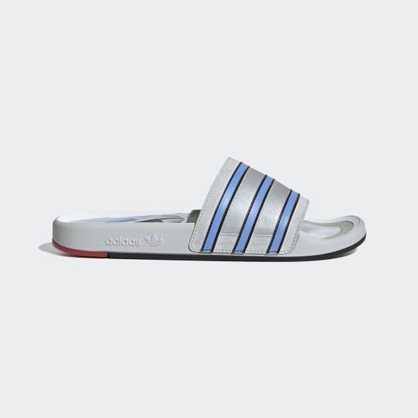 adidas Adilette Premium Slides - Grey