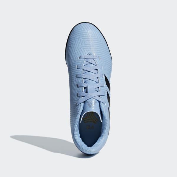 adidas Calzado de Fútbol NEMEZIZ MESSI TANGO 18.4 TF J - Blue ... 6ad68a6790ef1