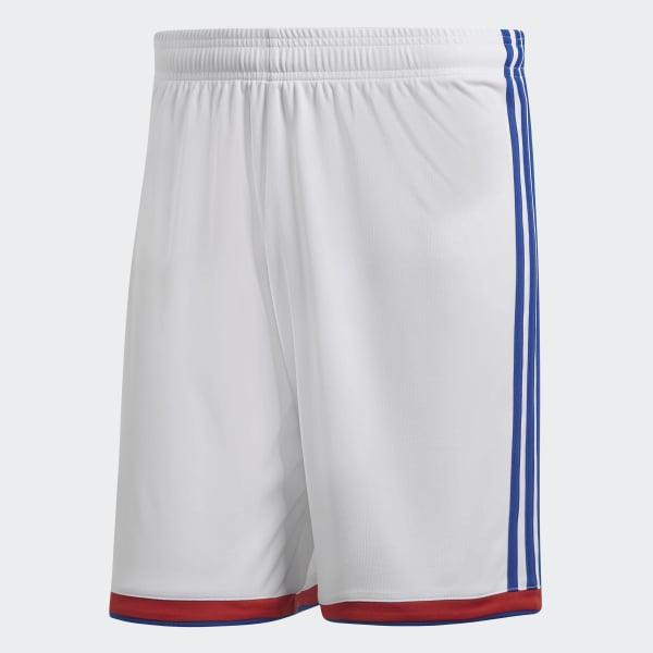 adidas Performance Benfica Weiß Fußball Heim-Shorts Jungen Fußballshorts