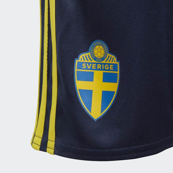 adidas Sverige Hjemmedrakt, mini Gul | adidas Norway