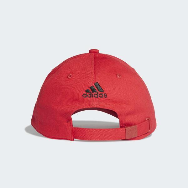 Gorra Manchester United - Rojo adidas  aacba54b0fe