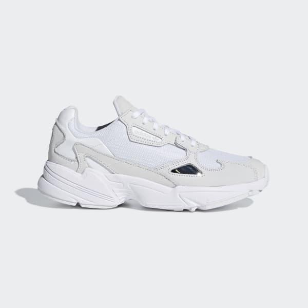 Buty Adidas Outlet Adidas Originals Falcon Damskie Białe