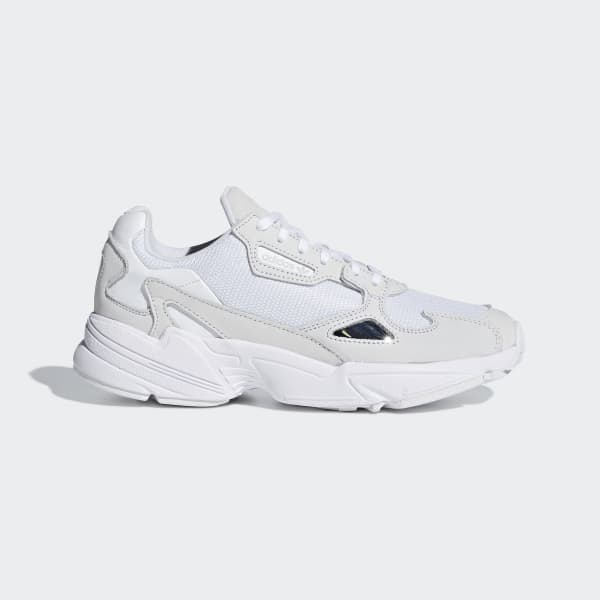 finest selection e0f2f dc65b adidas Falcon Shoes - White  adidas UK