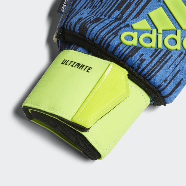 adidas Luvas Ultimate Predator - Amarelo  b2e5cdb7458e0