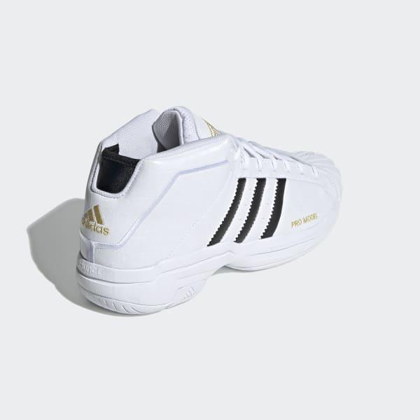 adidas Pro Shell Sneaker Herre Sneakers Hvite, adidas