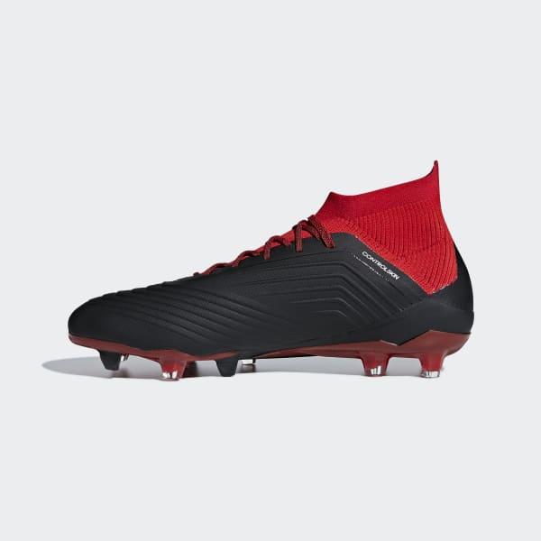 adidas Calzado de Fútbol Predator 18.1 Terreno Firme - Negro ... abfd753c5e8b1