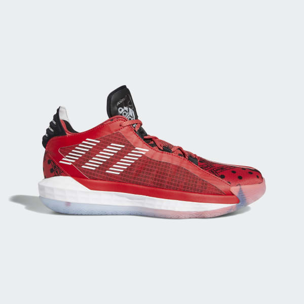 Adidas Dame 6 Shoes Red Adidas Us