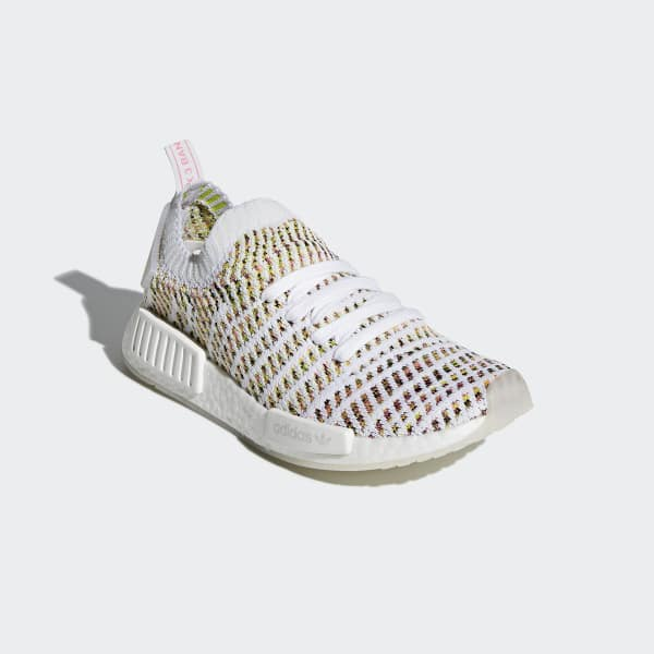 adidas NMD R1 STLT Primeknit Shoes - White  09cfb8daab