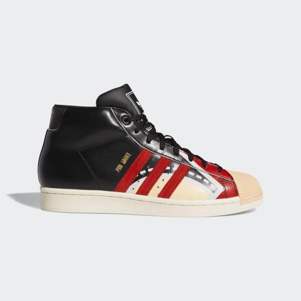 adidas Pro Model J.J. Shoes - Black