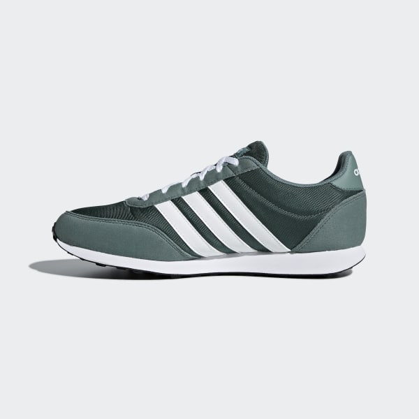 38add1cca04 adidas Tenis V Racer 2.0 - Verde