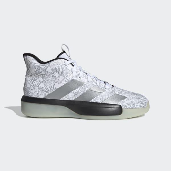 inferencia Enseñando Desnudo  adidas Pro Next 2019 Star Wars Shoes - White | adidas Turkey