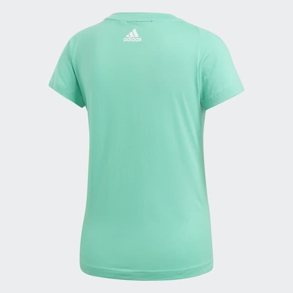 Polera deportiva Linear Essentials - Verde adidas  5dbf2eee061a5