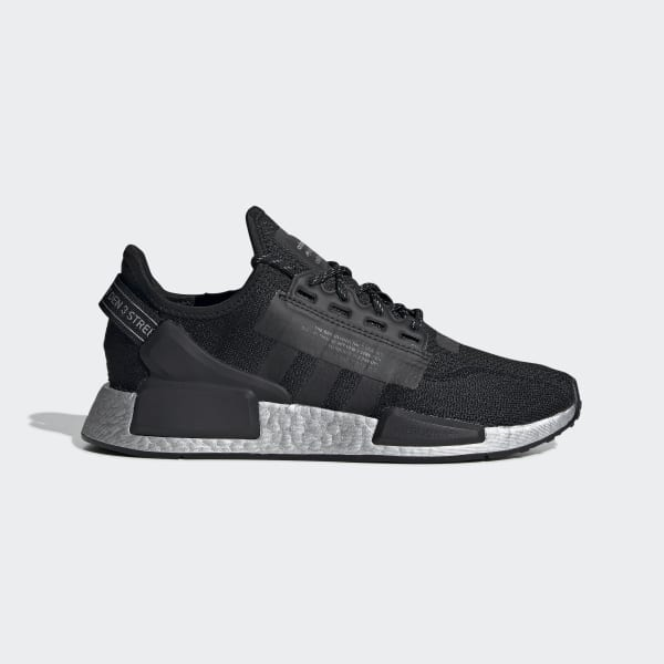 Women S Nmd R1 V2 Black And Silvershoes Adidas Us