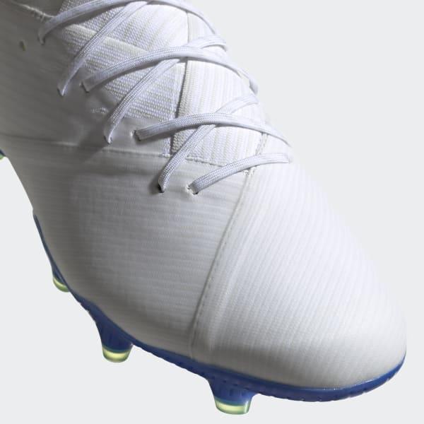 9e4c0a0426d adidas Botas de Futebol Nemeziz Messi 19.1 – Piso firme - Branco ...