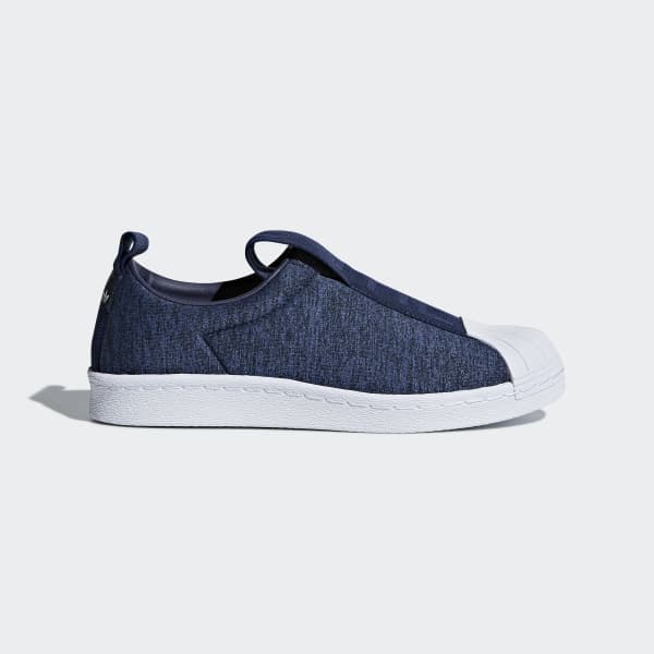 adidas Superstar BW3S Slip-on Shoes - Blue | adidas US | Tuggl