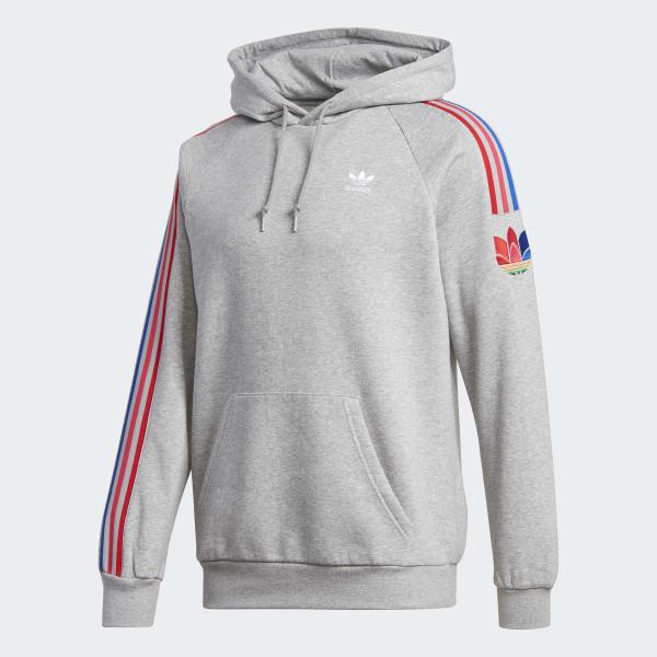 Sweat shirt à capuche Adicolor 3D Trefoil 3 Stripes