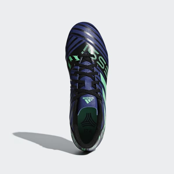 adidas Calzado Nemeziz Tango 17.4 Césped Artificial - Azul  ccda51f654079