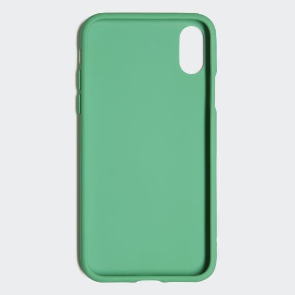 adf7f74737f Funda iPhone X Moulded 5,8 pulgadas - Verde adidas | adidas España