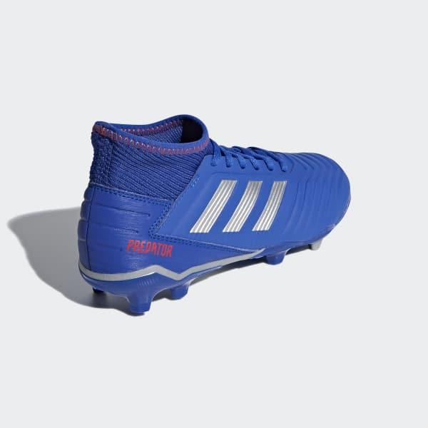 db7f5e93953 Chuteira de Campo Predator 19.3 - Azul adidas